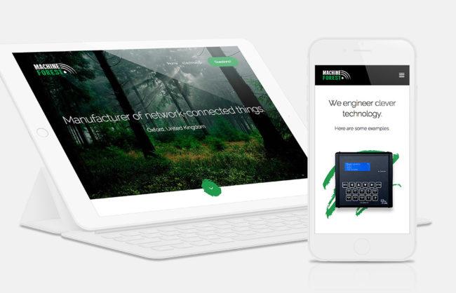 MachineForest.com / Responsive UI Design + Development