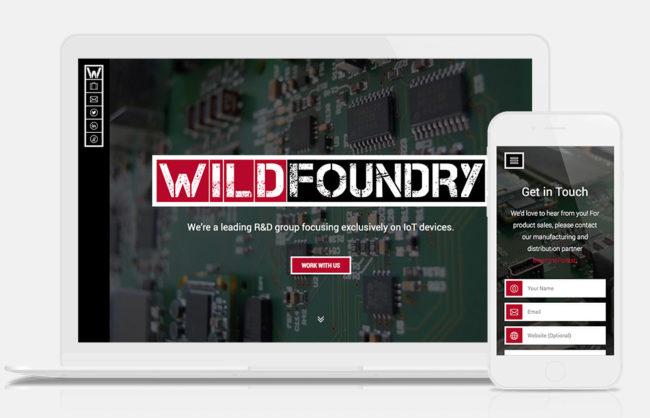 WildFoundry.com / Responsive UI Design + Development