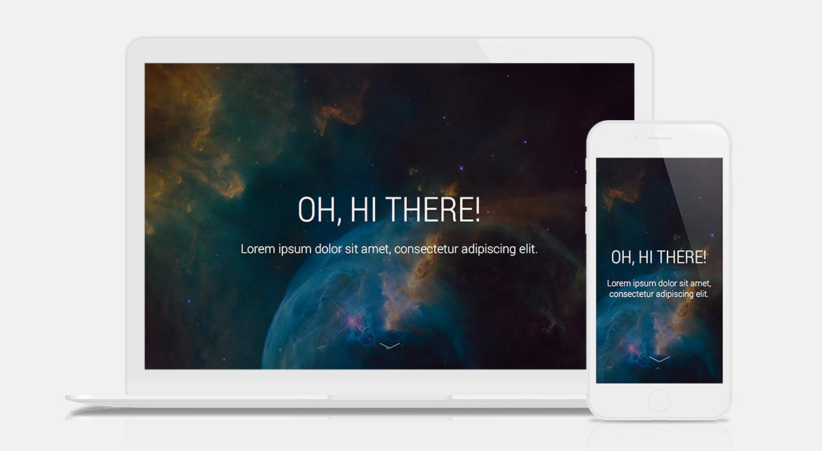 Create a Responsive Full-Height Cover Image Using CSS3 or